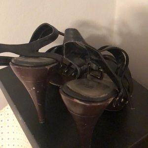Ankle strap Platforms heels